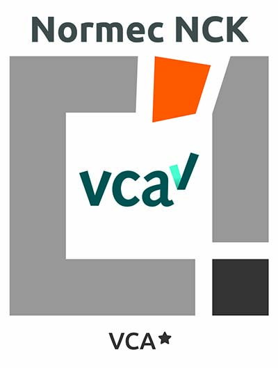 VCA NCK Certificaat logo's